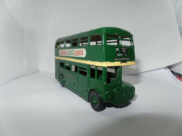 Dinky 289 Routemaster Bus Code 3 London Transport Country Area 339 Harlow UB